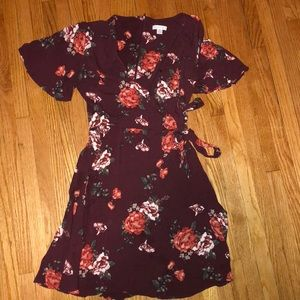 Floral dress! Size X-Small only warn twice.